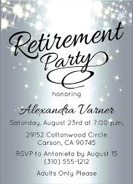 Retirement Party Invitations Templates Free Samples Invitation Ideas ...