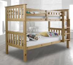 Happy Beds Atlantis Wooden Bunk Bed Ft Single Solid Pine X - Atlantis bedroom furniture