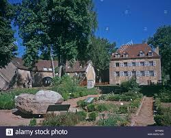 morvan maison du parc st brisson in the nievre 58 departement of france