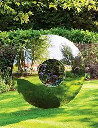 garden sculpture. Large Outdoor Sculpture In Stainless Steel Garden P