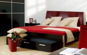 modern bedroom black and red. Modern Bedroom Black And Red P