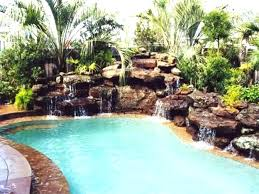 In ground pools with waterfalls Grotto Superb Rock Waterfalls For Inground Pools V5355151 Pool Rock Slides Pool Printjobzcom Valuable Rock Waterfalls For Inground Pools U9399814 Pool Project