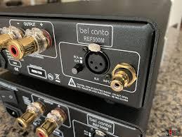 Bel Canto Design Ref500m Bel Canto Ref500m Monoblocks W Wireworld Ac Cables Photo