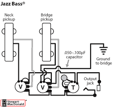 golden age bass pickups stewmac com for short connections between components use standard non shielded wire typically white wire is used for hot and black for ground