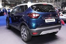 2018 renault captur review. wonderful 2018 facelifted renault captur geneva  rear to 2018 renault captur review