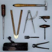 carpenter tools name. a selection of eighteenth-century woodworking tools. carpenter tools name