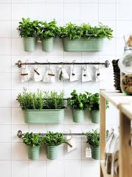how to make an indoor herb garden. (Image Credit: IKEA) How To Make An Indoor Herb Garden