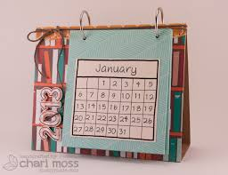diy desk calendar and stand home heart craft today we have an awesome from chari i couldn t wait to see how she made her desktop