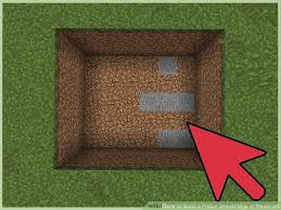 How to Build a Piston Drawbridge in Minecraft 10 Steps