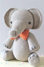 Crochet Stuffed Elephant Pattern