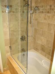 glass tub enclosures frameless glass pivot tub door hinged tub enclosure door photos a glass panel glass tub enclosures frameless