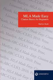 Mla Made Easy Citation Basics For Beginners Marilyn Heath