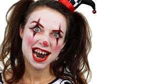 scary clown makeup tutorial face paint you curn design ideas bar design ideas