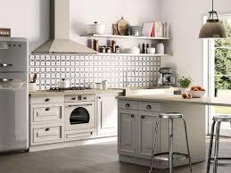 Mattonelle per cucina in muratura moderna