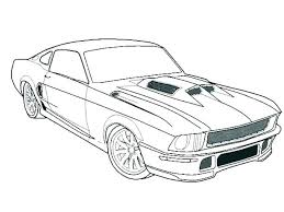 Mustang Coloring Page Stephaniedlcom