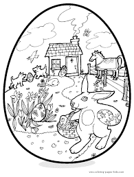 Easter Printable Coloring Page Coloring Pages For Kids