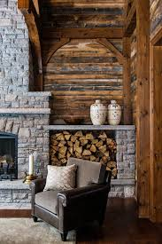 It is enough to look at a fireplace in the living room and it will warm ...