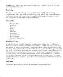 My Perfect Resume Templates Amazing 40 Ppc Expert Resume Templates Try Them Now MyPerfectResume