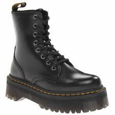 dr martens jadon black womens leather mid calf 8 eye boots