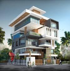apartment building design. Apartments Rendering 3d Architectural Building Design Apartment
