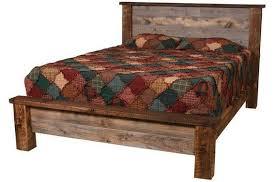 modern rustic wood furniture.  Rustic Natural Barn Wood Low Profile Bed ModernRustic Furniture Minimalist Reclaimed  Bed Rusticfurniture With Modern Rustic Furniture O