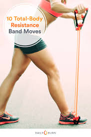 Power Of 10 Workout Chart 10 Resistance Band Exercises To Build Total Body Strength