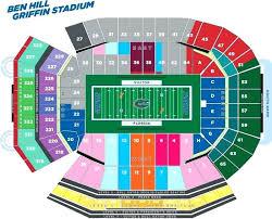 Ben Hill Griffin Seating Chart Stadium Seating Lg Ben Hill