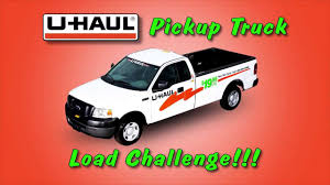 U-Haul Pickup Truck Load Challenge - YouTube