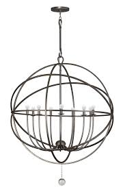 9 light english bronze industrial chandelier dd in clear glass drops 9229 eb elite fixtures