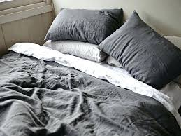 dark grey duvet cover queen gray linen designs pertaining to popular home prepare covers defined