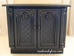 spray painting wood furnitureDIY Table RefinishSpray Paint Style