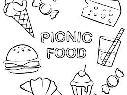 Food Colouring Pages Printables Healthy Food Colouring Pages Free