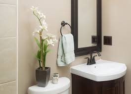ideas for bathroom decor. Image Of: Half Bath Decorating Ideas The Perfectly Home Inside For Bathroom Decor