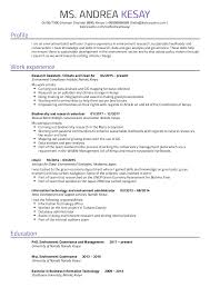 Research Resume Samples Resume Examples By Real People Environmental Research