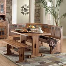 dining room table with bench and chairs awesome linon chelsea breakfast corner nook hayneedle