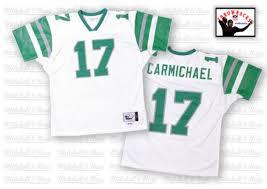 Carmichael Harold Football Authentic 17 Jersey Throwback White Sale Eagles Men's Philadelphia Road