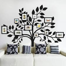 image of modern family tree wall decal decorations