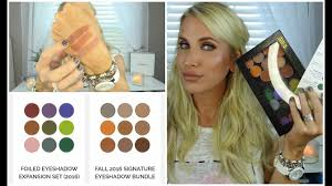 new makeup geek shadows fall 2016 swatches parison