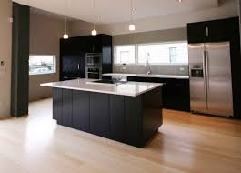 Modern Kitchen Furniture Stainless Steel Modern Kitchen Design With Silver Floor And Wooden