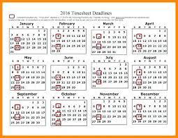 Biweekly Pay Schedule Template Bi Weekly Calendar Excel Free Payroll ...