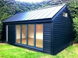 A Prefab Office Shed Custom Studio Tiny House Design Of  Home