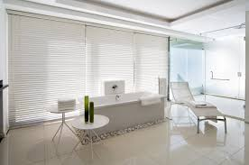 white office interior. Minimalist White Interior Of Mosi House Office