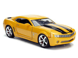Bumblebee is a fictional robot superhero in the many continuities in the transformers franchise. Transformers Hollywood Rides Bumblebee 2006 Chevy Camaro Concept 1 24 Scale Vehicle