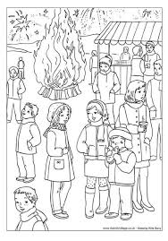 Small Picture Bonfire Night colouring page Coloring pages for all ages 2