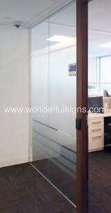 Office Doors With Windows Frosted Glass Film Office Doors With