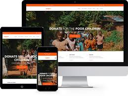 free html5 web template charity free website template using bootstrap for non profit websites
