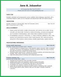 Objective For Nursing Resume Jmckell Com