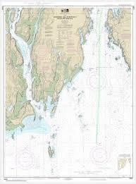 Noaa Chart 13295 Noaa Chart Kennebec And Sheepscot River Entrances 13295
