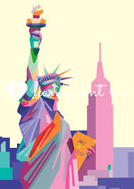 contemporary wall art canvas new york