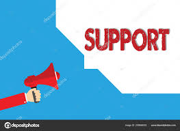 Word Writing Text Support Business Concept For Give